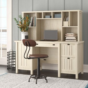 Shelby Writing Desk with Hutch by Laurel Foundry Modern Farmhouse