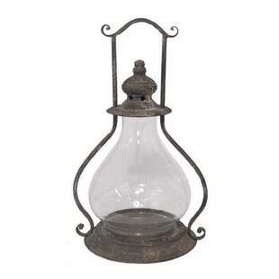 Compare prices Metal Lantern By Ophelia & Co.