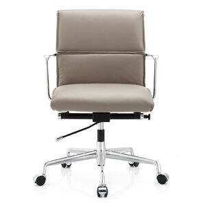 Elegant Italian Leather Office Chair