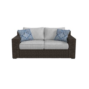 Bloomsbury Market Barnfield Loveseat with Cushions