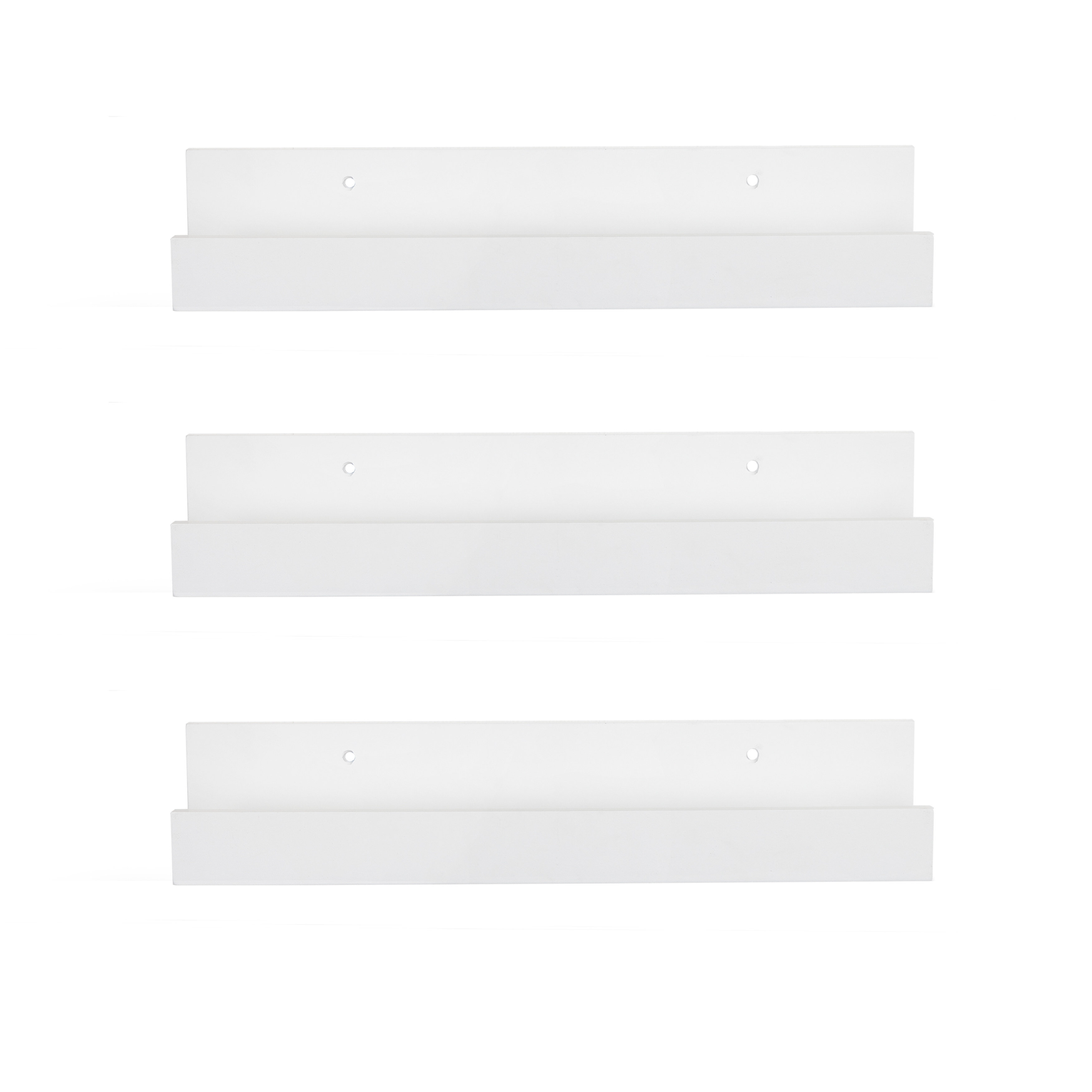 Shallow White Wall Display Shelves You Ll Love In 2021 Wayfair