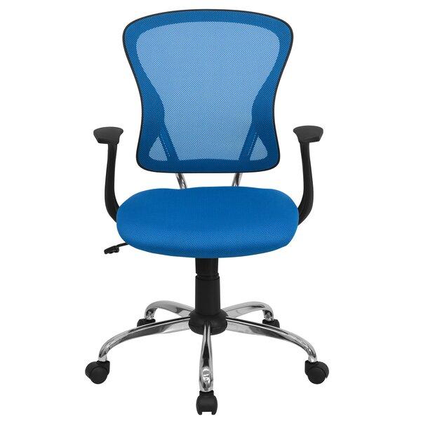 modern blue office chairs   allmodern