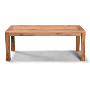 Hodges Solid Wood Coffee Table by Rosecliff Heights