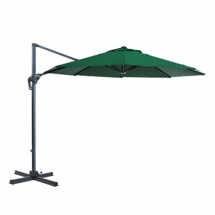 EmeraldCove Patio Offset 10' Cantilever Umbrella by Red Barrel Studio Find