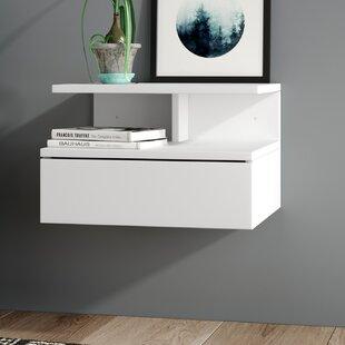 Ajka 1 Drawer Bedside Table