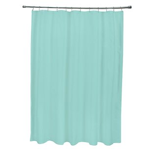 Solid Single Shower Curtain by e by design Top Reviews