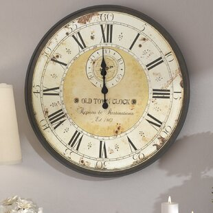 Oversized Haverstraw 32 Wall Clock