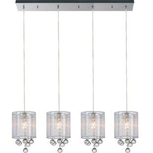 CWI Lighting 4-Light Kitchen Island Pendant