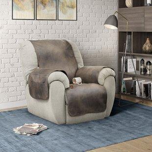 Box Cushion Recliner Slipcover By Serta