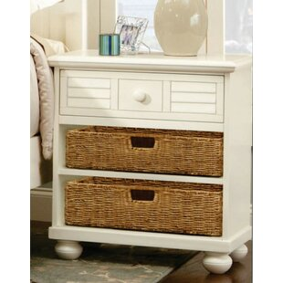 Rosecliff Heights Cowling Ice Cream at the Beach 1 Drawer Nightstand