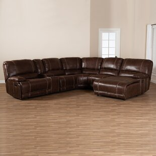 Silvio Reclining Sectional by Red Barrel ..
