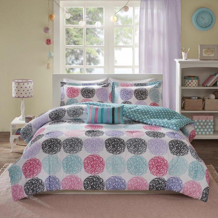 66339a9711 Viv + Rae Silvia Reversible Comforter Set & Reviews | Wayfair