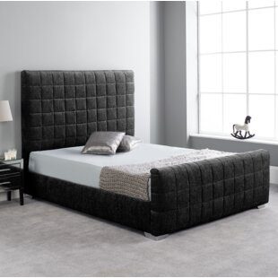 Carli Upholstered Bed Frame By Metro Lane
