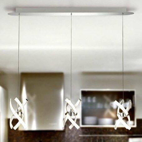 austin 3 light kitchen island pendant contempo lights austin 3 light kitchen island pendant  u0026 reviews      rh   wayfair com