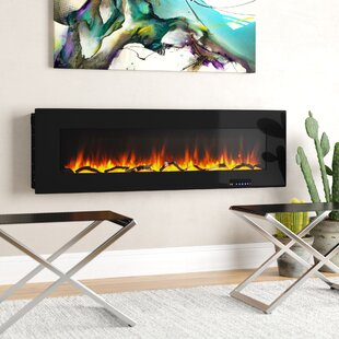 Krystal Wall Mounted Fireplace..