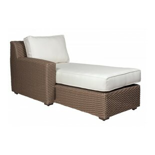 Augusta Chaise With Cushion by Woodard Great price