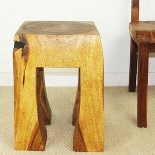 Dall Blocky Thai End Table by World Menagerie