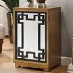 Green Key Door Wood Cabinet by Lamps Per Se