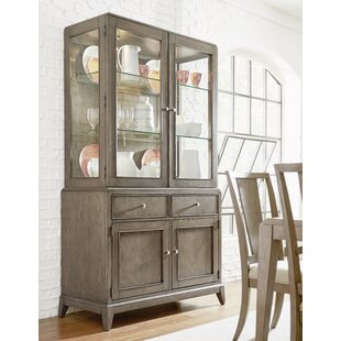 Ophelia & Co. Whicker China Cabinet