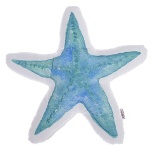 Michele Star Shaped Printed Throw Pillow