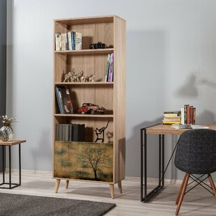 Gelueck Bookcase By World Menagerie