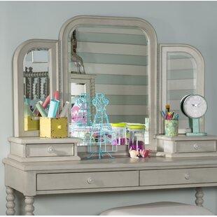 La Crosse TriView Vanity with Mirror by Harriet Bee