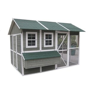 Coops And Feathers Extreme Chicken House With Chicken Run By Innovation Pet