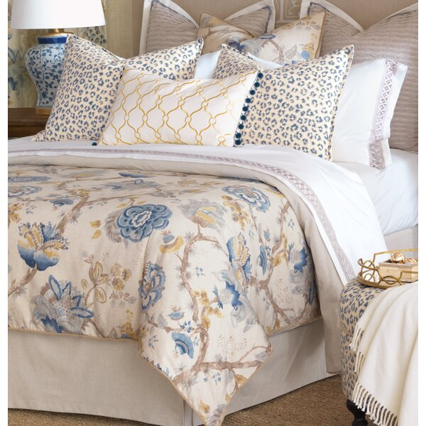 Eastern Accents Emory Floral Cotton Blend Duvet Cover Perigold