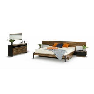 Carstarphen Modern California King Panel Configurable Bedroom Set