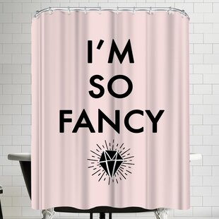 Annie Bailey So Fancy Single Shower Curtain