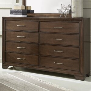 Mcdowell 8 Drawer Dresser by World Menagerie