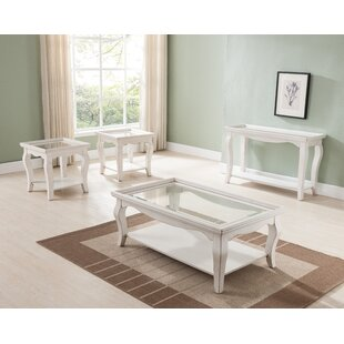 Gentil Aguirre 3 Piece Coffee Table Set