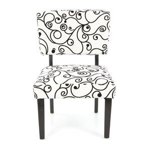 Blair Floral Side Chair by Ebern Designs