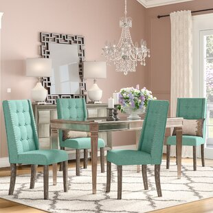 Brette 5 Piece Solid Wood Dining Set