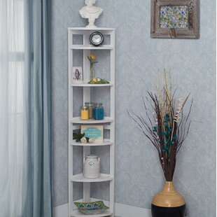 Flip Flop Folding Corner Unit Bookcase by Regency Best Design