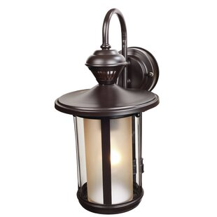 Read Reviews 1-Light Outdoor Wall Lantern By Heath-Zenith