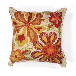 Litherland Floral Throw Pillow