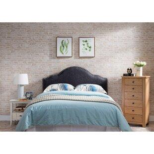 Charlton Home Frasher Upholstered Panel Headboard