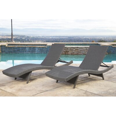 Grey Outdoor Chaise Amp Lounge Chairs On Sale Wayfair