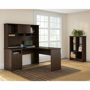 Affordable Price Fralick 3 Piece L-Shape Desk Office Suite By Darby Home Co