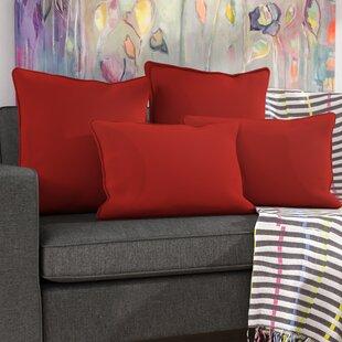 Cullman 4 Piece Microsuede Pillow Set