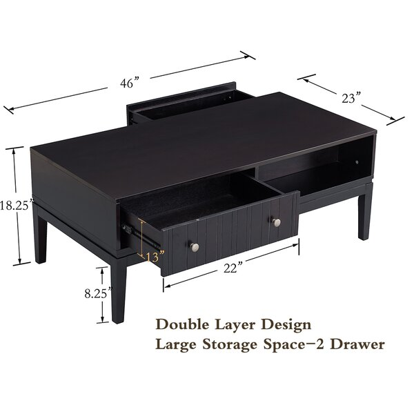 Overton Coffee Table with Storage