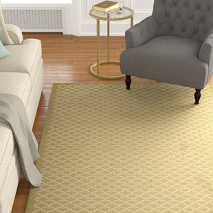Bexton Green / Beige Indoor/Outdoor Area Rug