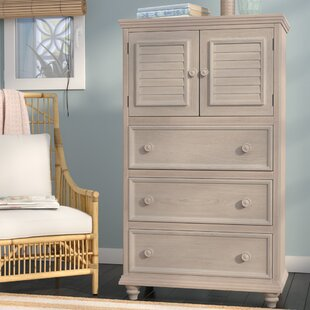 Eastweald 3 Drawer Gentleman's Chest by Beachcrest Home