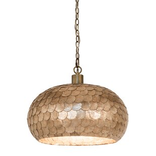 Bloomsbury Market Alaysia 1-Light Dome Pendant