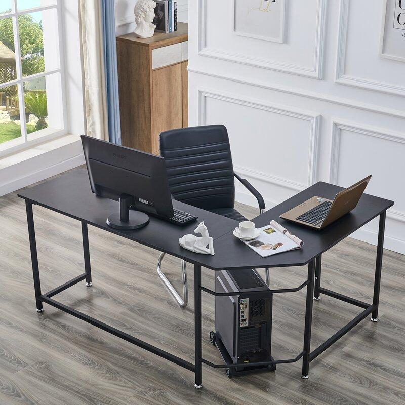 Abilene L-Shaped Desk