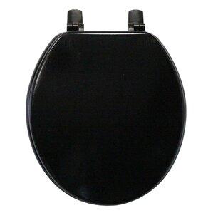 Black Toilet Seats Youll Love Wayfair - Black wooden toilet seat