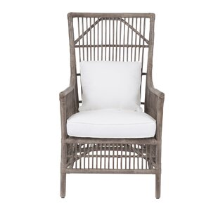 Oriana Patio Chair With Cushion by Bay Isle Home Reviews