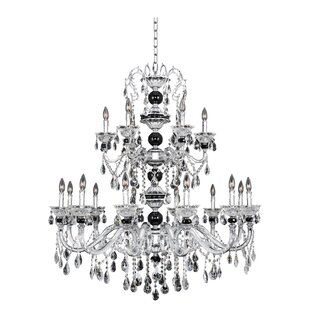 Allegri by Kalco Lighting Faure 18-Light Candle Style Chandelier