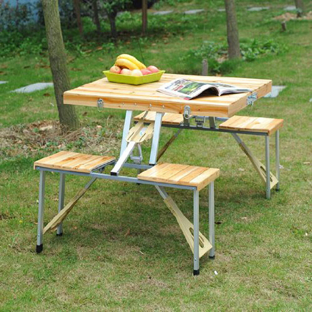 - Freeport Park Corby Folding Picnic Table & Reviews Wayfair